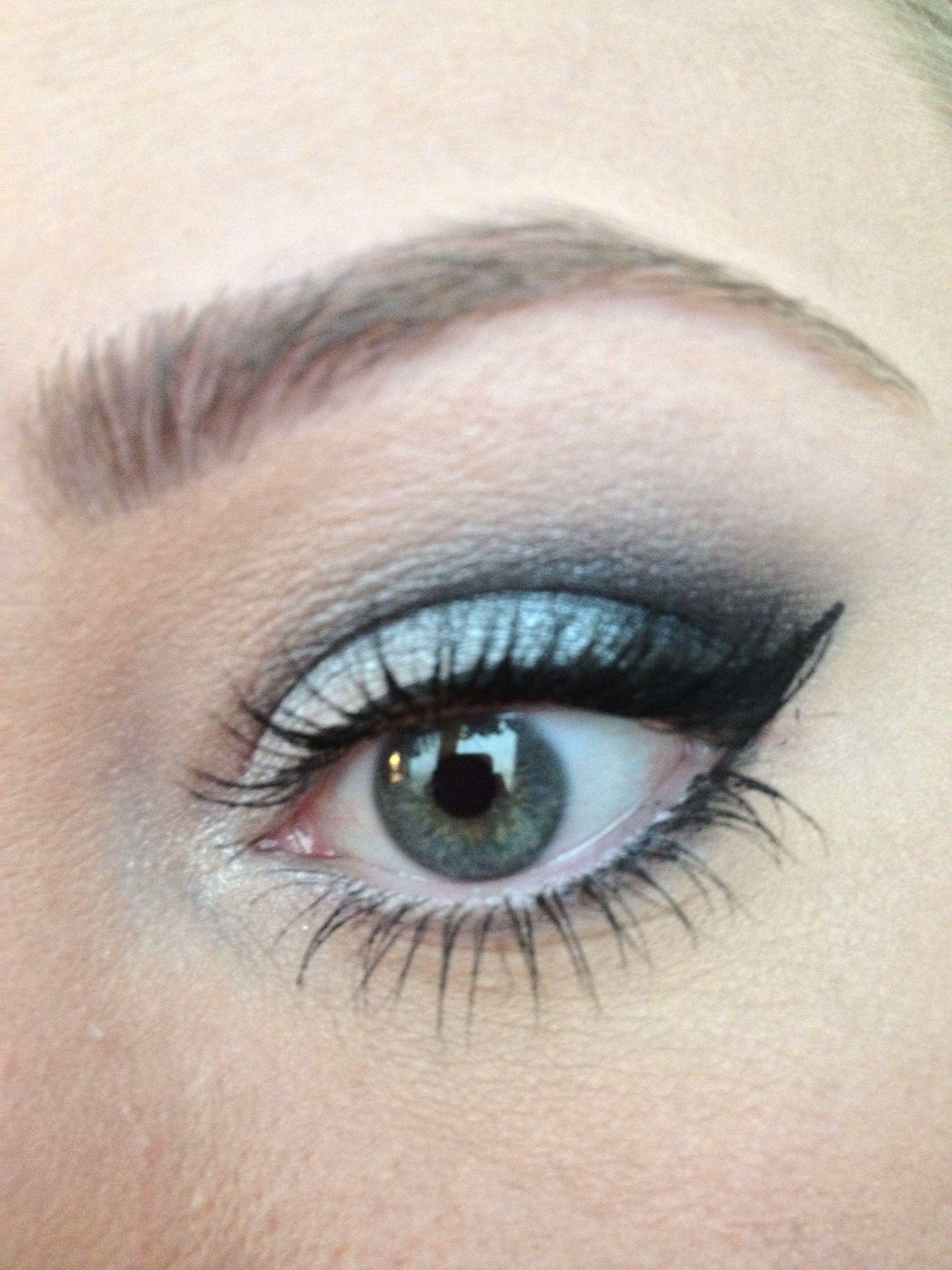 Metallic grey, Gunmetal Look Gunmetal, Beauty makeup