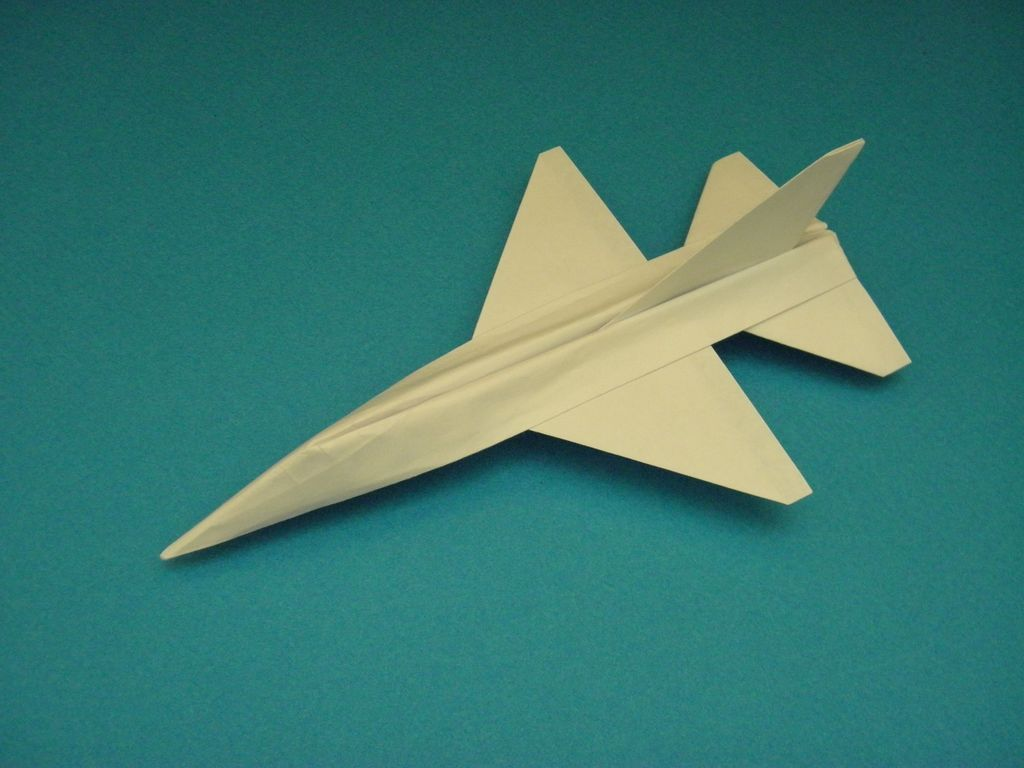 How to fold an origami f plane origami planes and oragami