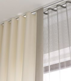 Ripple Fold Modern Drapery Google Search Ceiling Mounted Curtains Modern Window Treatments Curtains