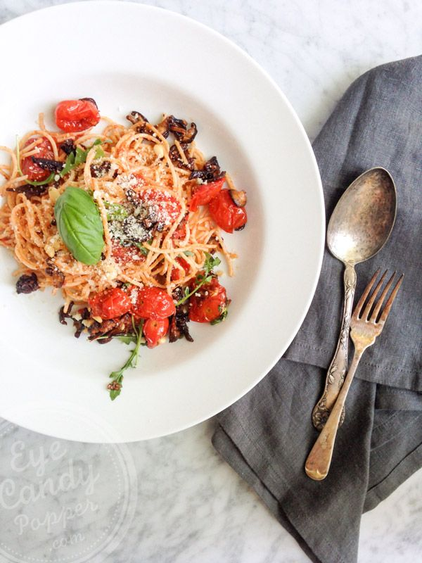 Simple roasted vegetable and pasta dinner recipe pasta vegans simple roasted vegetable and pasta dinner healthy organic recipesclean forumfinder Choice Image