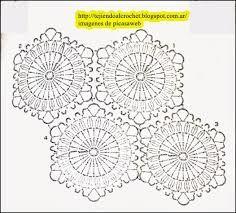 Resultado de imagen para hexágono crochet pattern