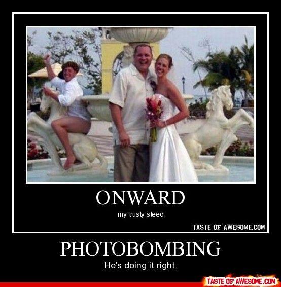 Photobombing