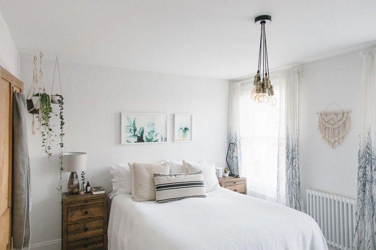 Idee arredo casa, camera da letto con pareti di colore ...
