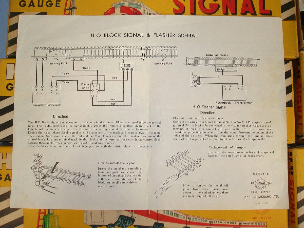 rr+train+track+wiring | ... Limited HO Gauge Railroad Signals
