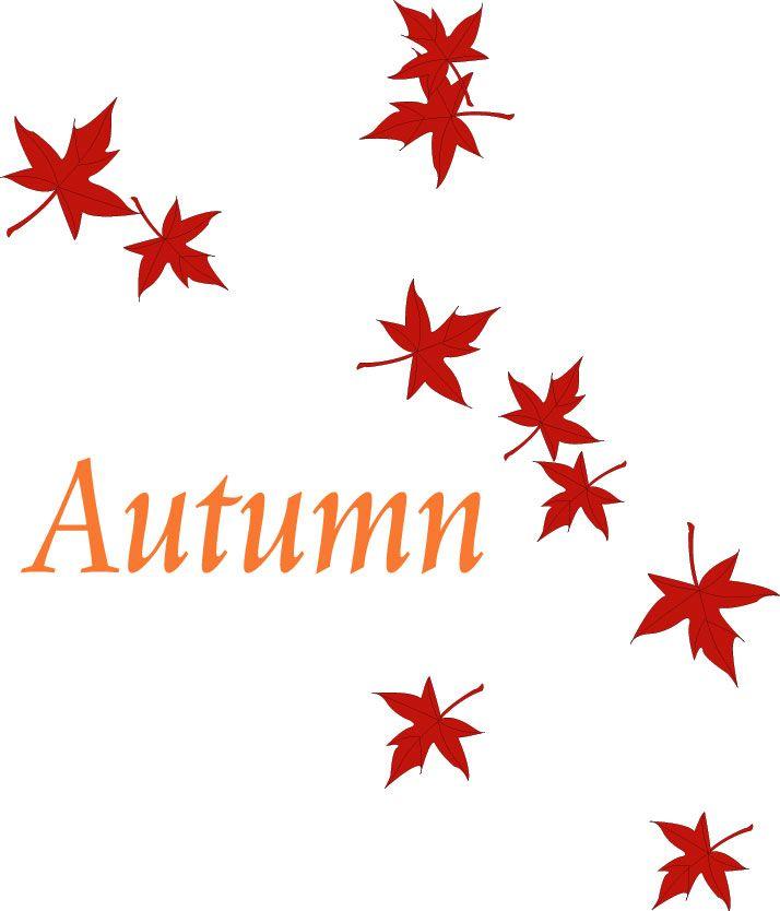 clip art autumn nature borders clip art autumn leaves pictures rh pinterest com Autumn Leaves Clip Art Pumpkin Clip Art Autumn Nature