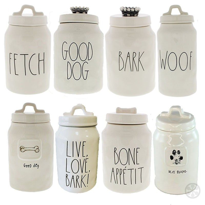 Here Boy The Most Stylish Dog Treat Jars Available Dog Treat