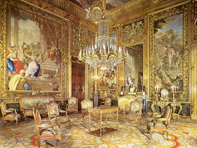 bourgeoisie 17th century french interior design - Google Search