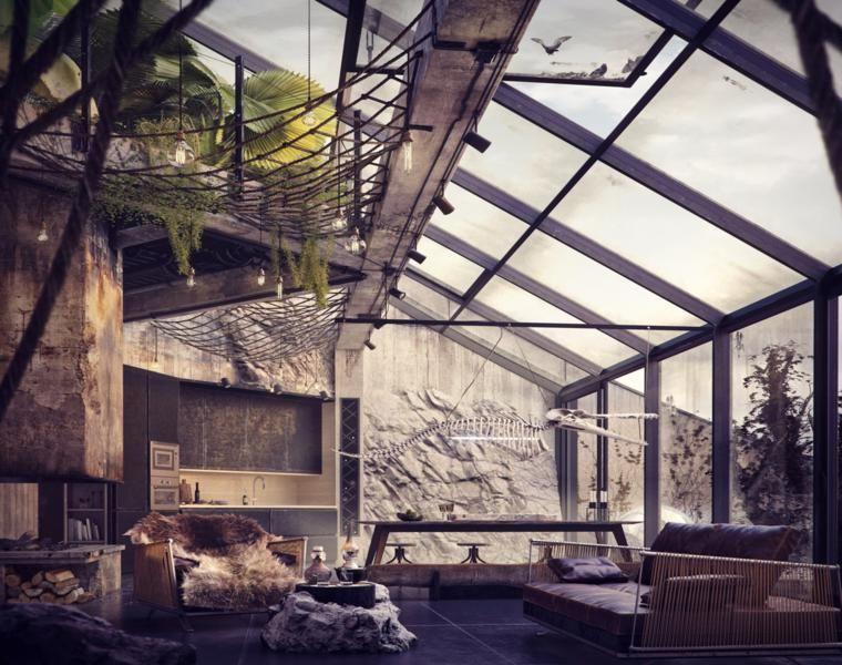 Lofts des Designs - besichtigen Sie die 42 eindrucksvollsten Innenräume #loftdesign