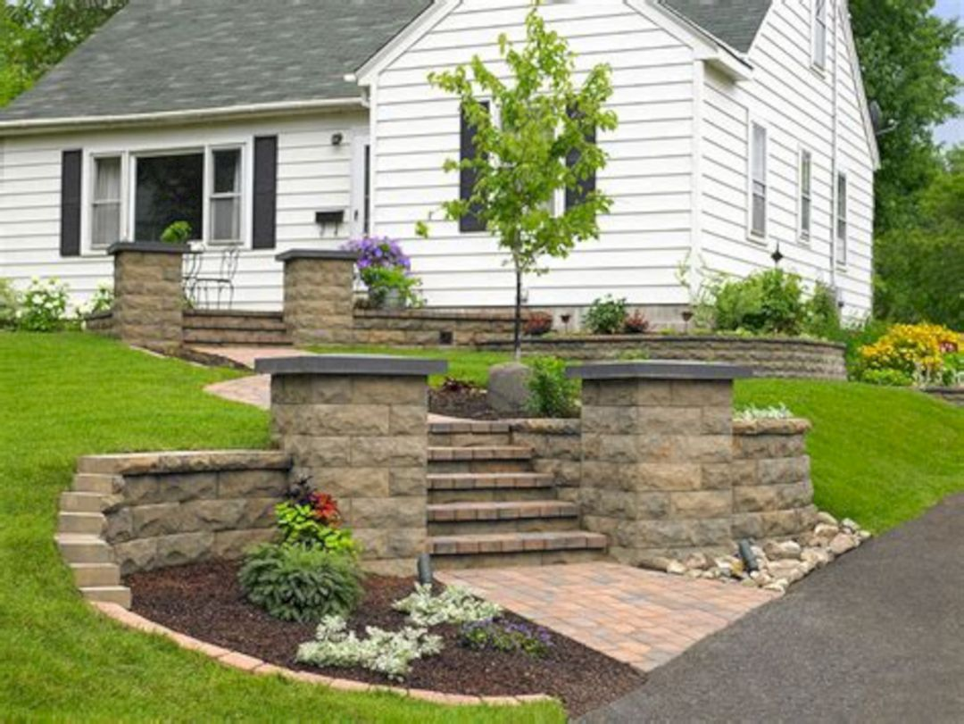 Nice 25+ Best Concrete Retaining Wall Inspiration To Make Your ...