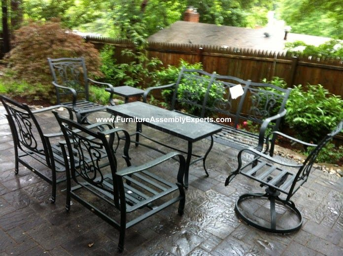 Lazy Boy Patio Furniture Set Assembled In Rockville MD By Furniture  Assembly Experts LLC   Call