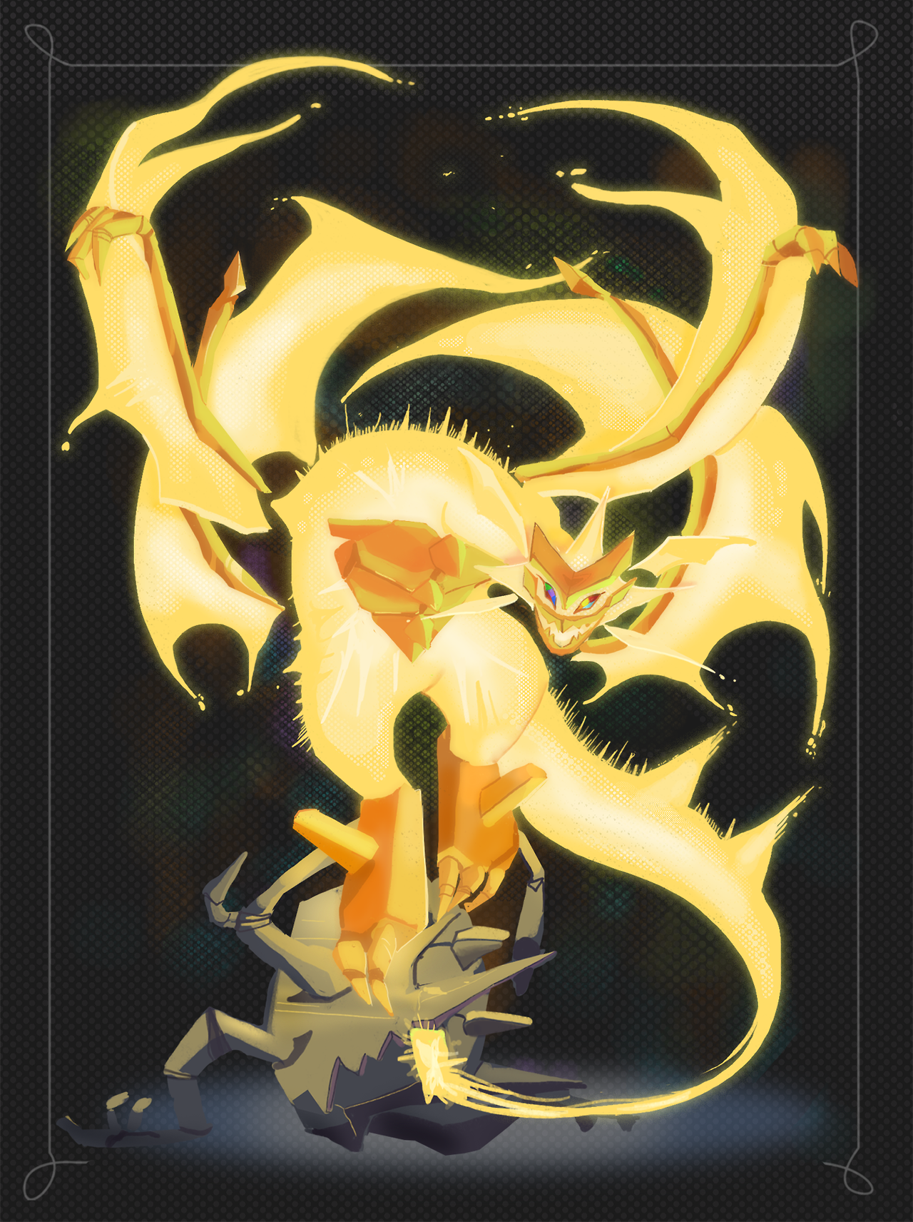 Ultra Necrozma Pokemon Backgrounds Pokemon Art Pokemon Human Form