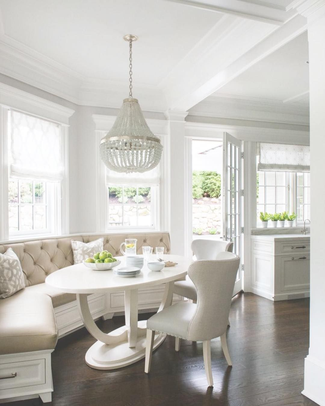 Heading Back To Work After The Long Weekend Can Be Tough So We Thought A Long Narrow Living Room Dining Nook