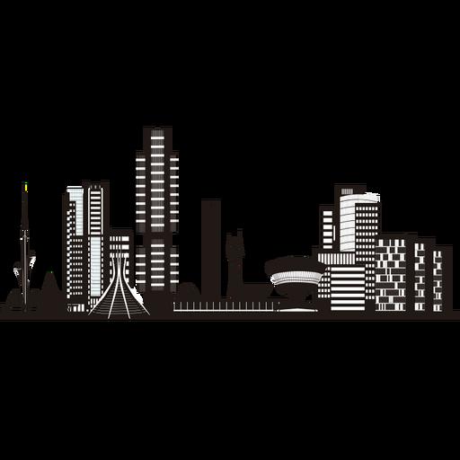 Brasilia Skyline Silhouette Ad Sponsored Affiliate Silhouette Skyline Brasilia Skyline Silhouette Skyline Watercolor Background