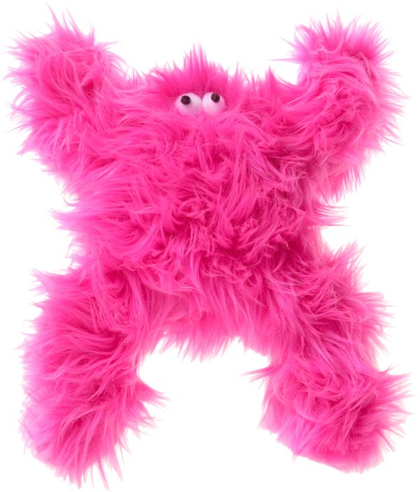 Unlike The Boogey Monster This Handcrafted Bright Pink Fuzzy And