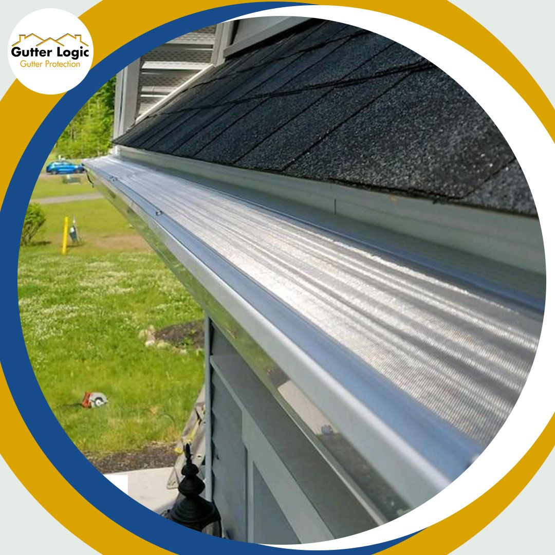 The Logical Choice For Gutter Protection Gutter Gutter Protection Logic