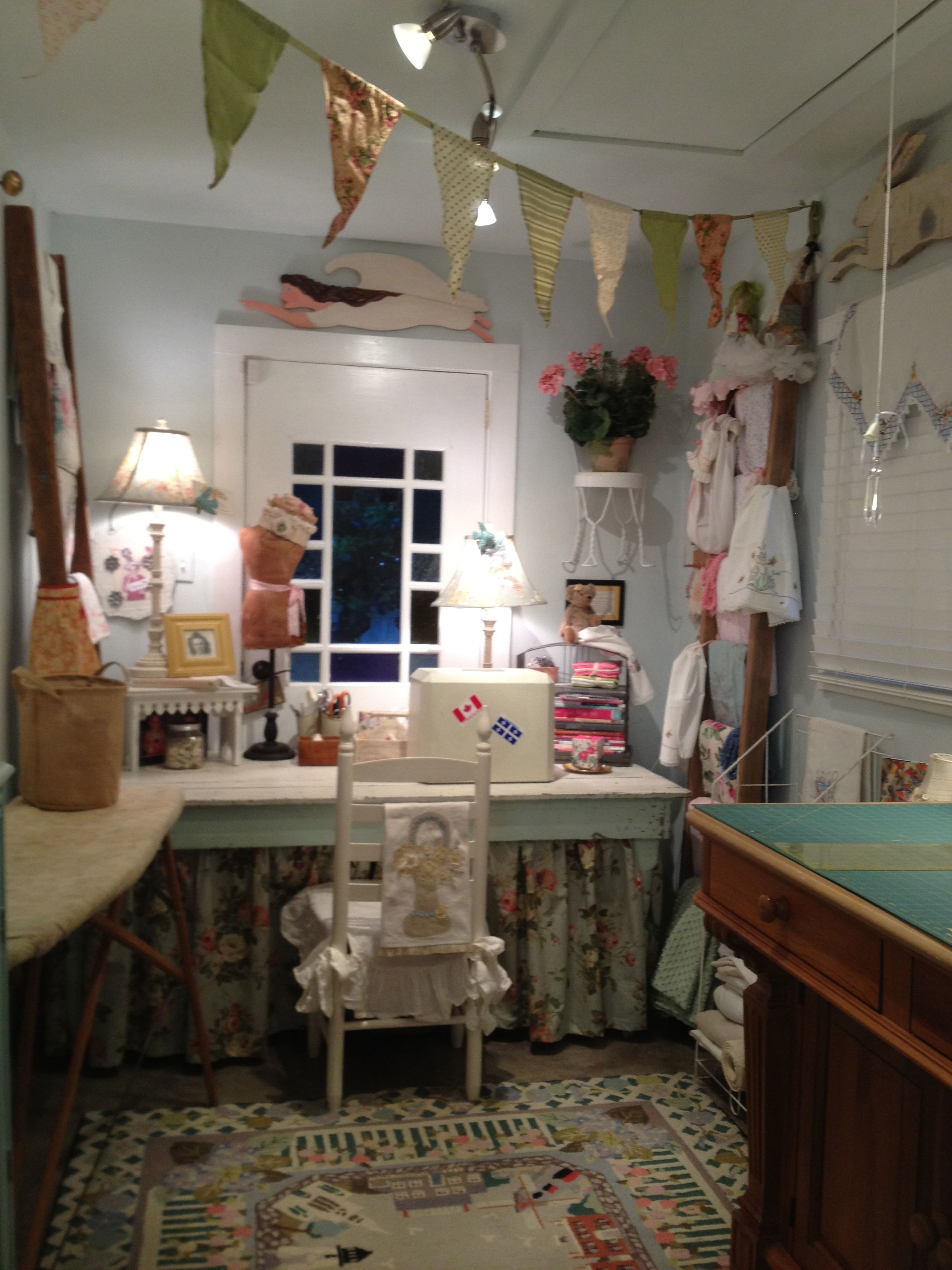 Craft Room Tour - Create and Babble  Cute For Craft Rooms Furniture