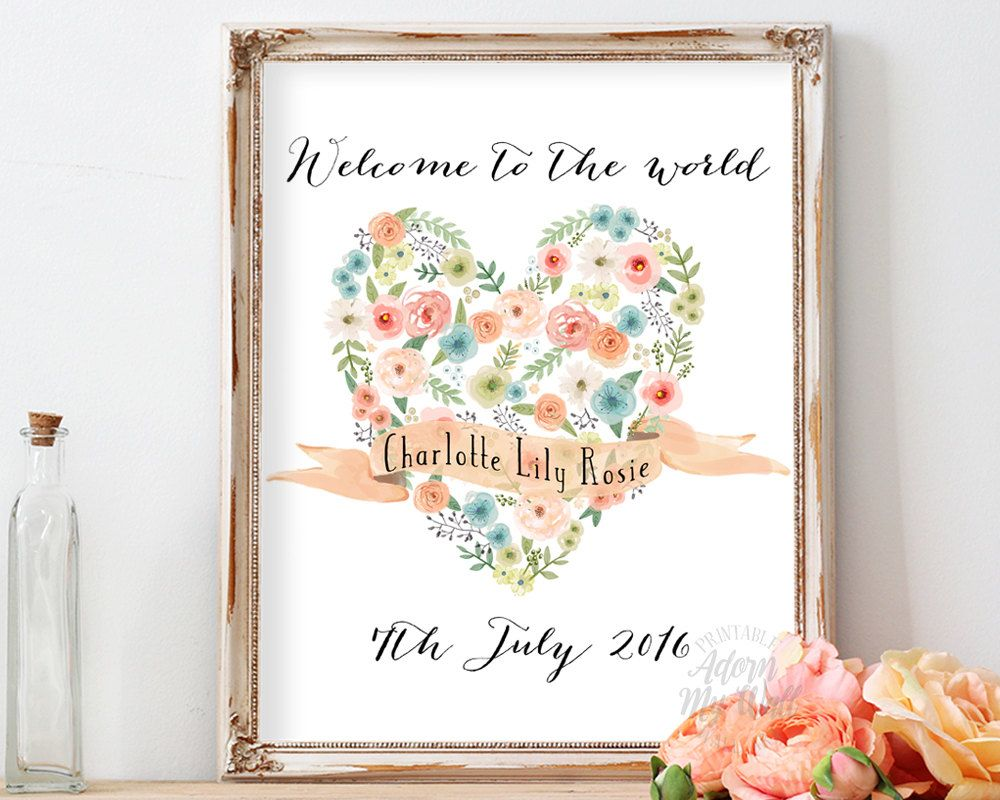 Welcome to the world personalized name sign baby girl gift welcome to the world personalized name sign baby girl gift personalised custom negle Choice Image