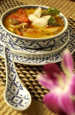 Thai Suppe Tom Yam Gung