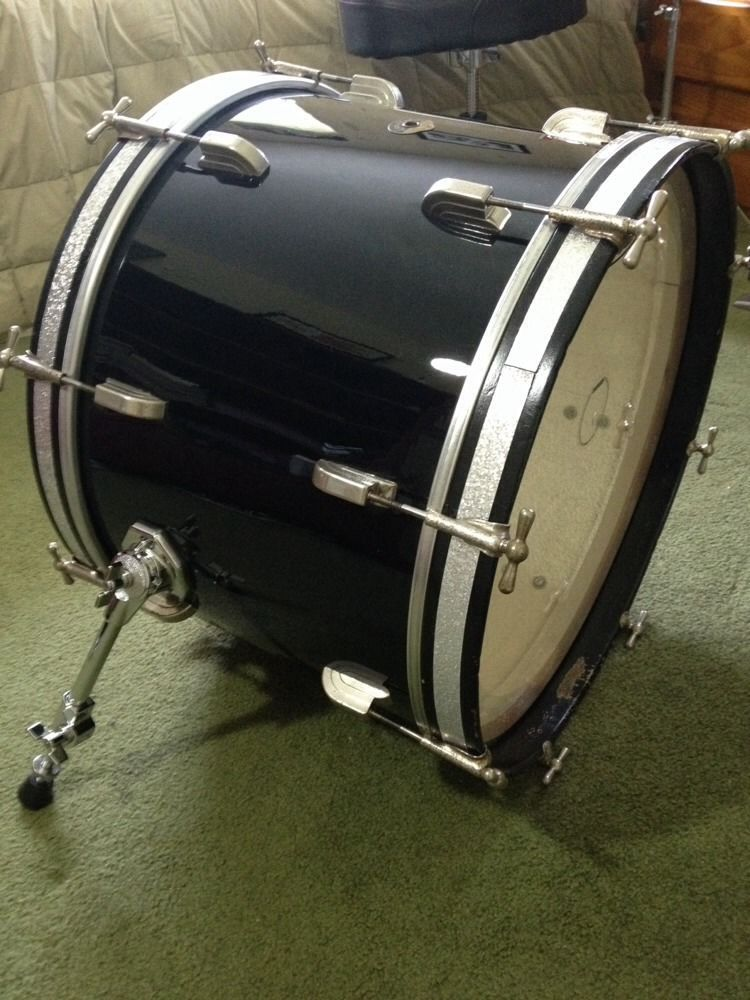 a6fe77dedc3c Vintage Leedy and Ludwig Bass Drum 1950 S