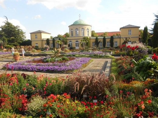 During The Hannover Messe Visit The Herrenhausen Gardens Hannover Countries To Visit Botanical Gardens