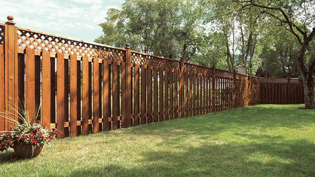 Installer une clôture préfabriquée Fences, Outdoor ideas and Patios - palissade en pvc jardin