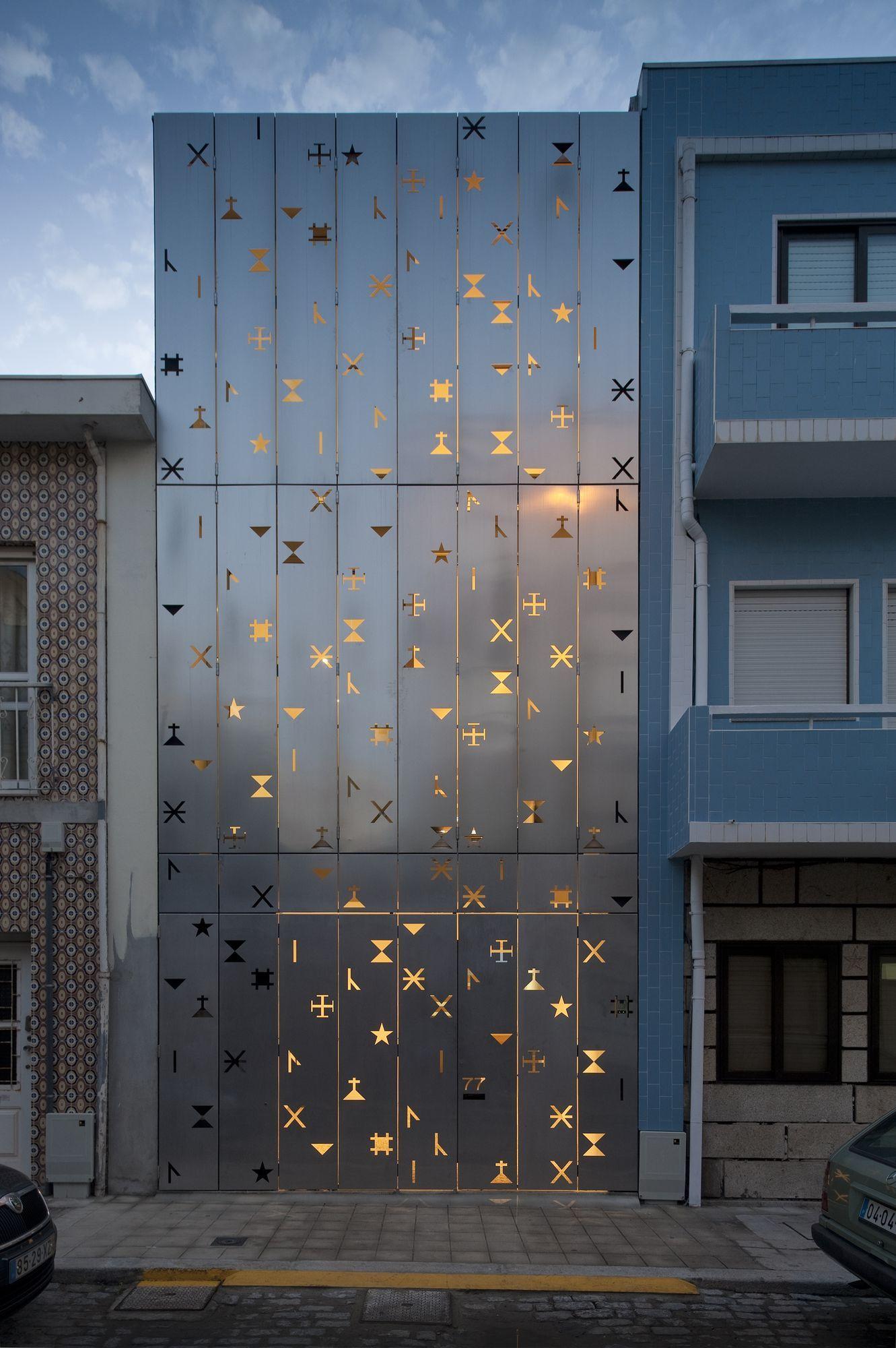 Exemple De Bardage Exterieur exemples maisons immeubles avec façades perforées