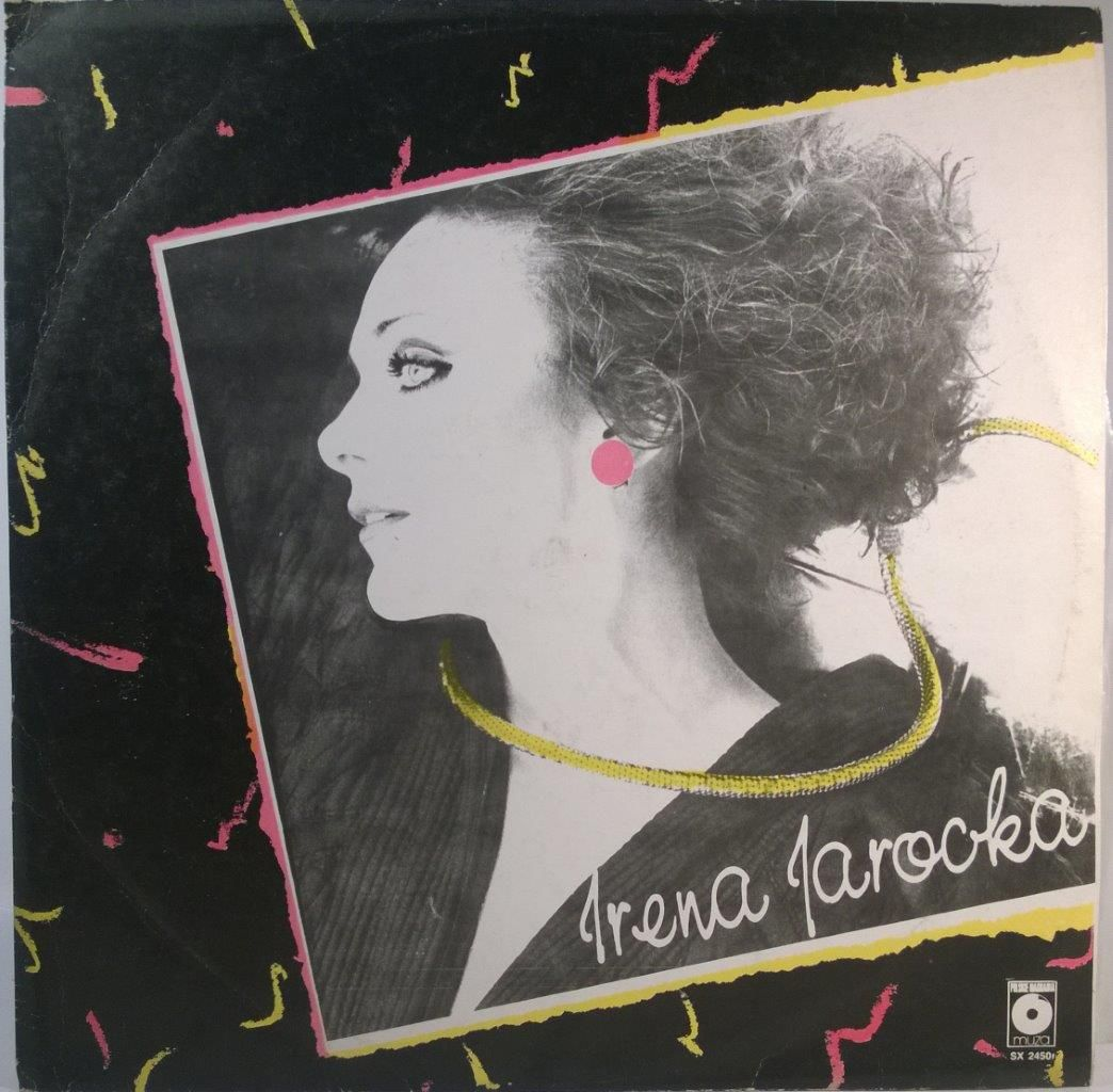 Irena Jarocka Irena Jarocka Book Cover Retro Poster