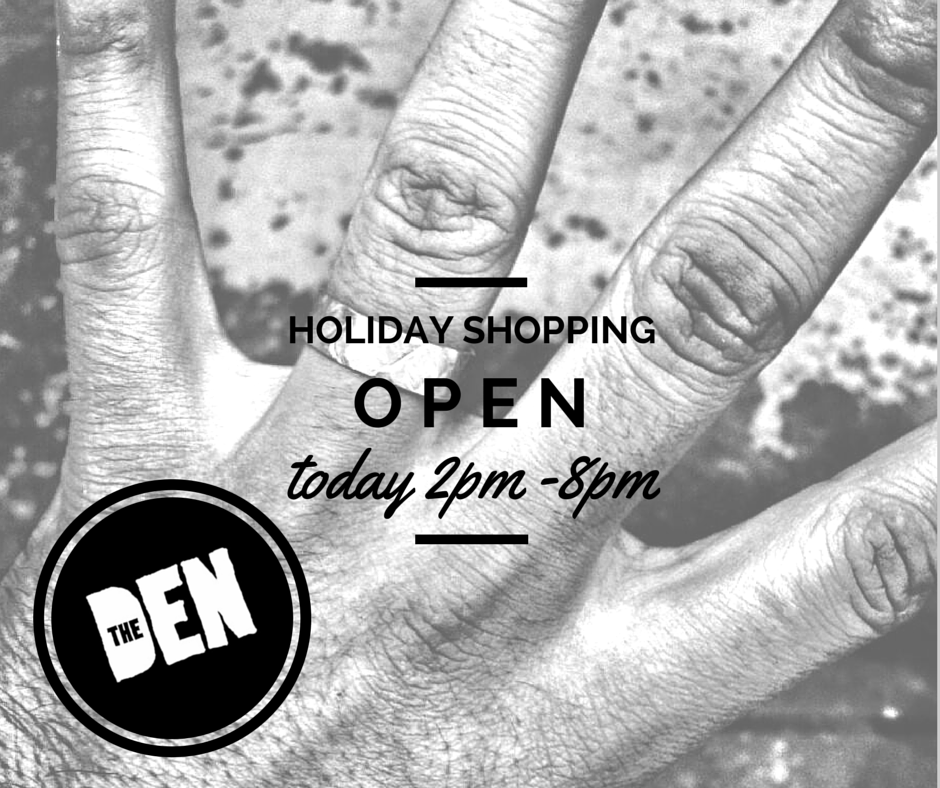 We're open every weekend until the end of the year for your #HolidayShopping needs! Visit us at  http://thedentoronto.com/