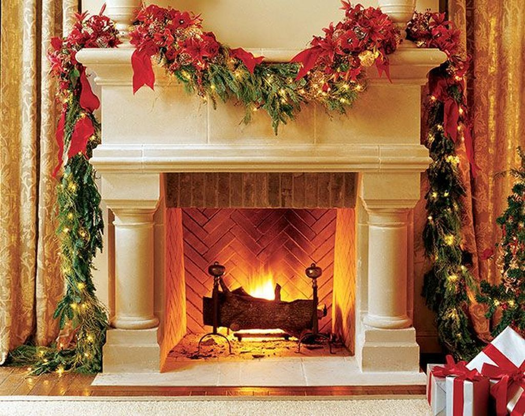 how to clean cast stone fireplace