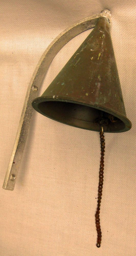 Vintage Nautical Brass Dinner Bell Wall Mount 5 With Mounting Bracket Vintage Nautical Dinner Bell Mounting Brackets