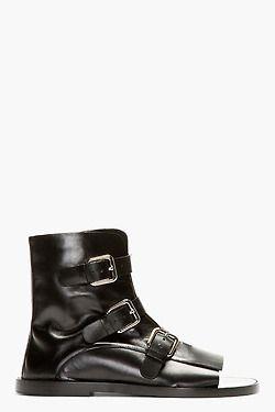 Jill Sander cutoff sandals