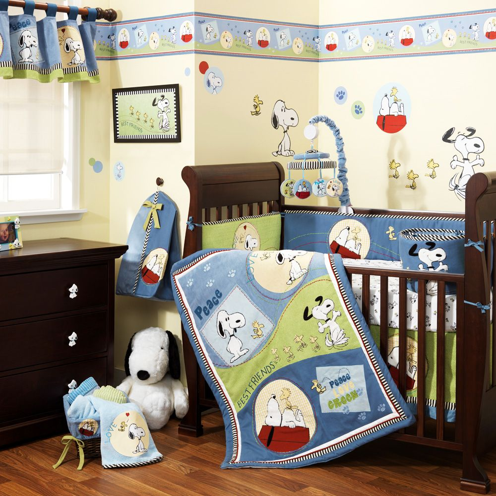 14 Fabulous Snoopy Crib Bedding Set Picture Inspirations