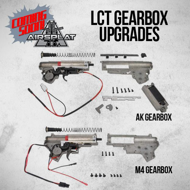 Coming Soon to AirSplat! LCT Gearbox Upgrades for M4 and
