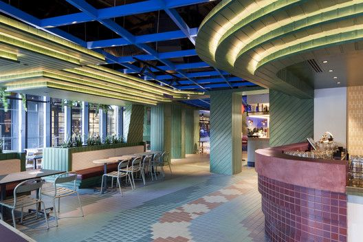 Hightail bar technē architecture and interior design