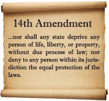 13th Amendment To The Constitution The Fourteenth