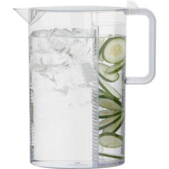 pitcher - flavor water