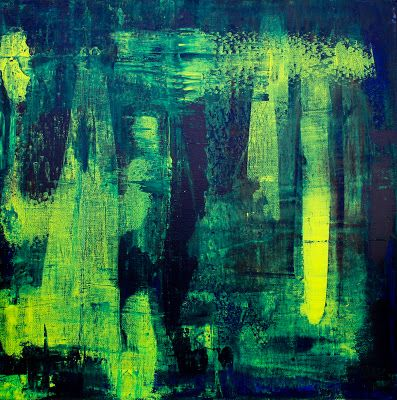David Muddyman - Lost Songs #4: Song of Zennor (Acrylic on canvas 76cm x 76cm)