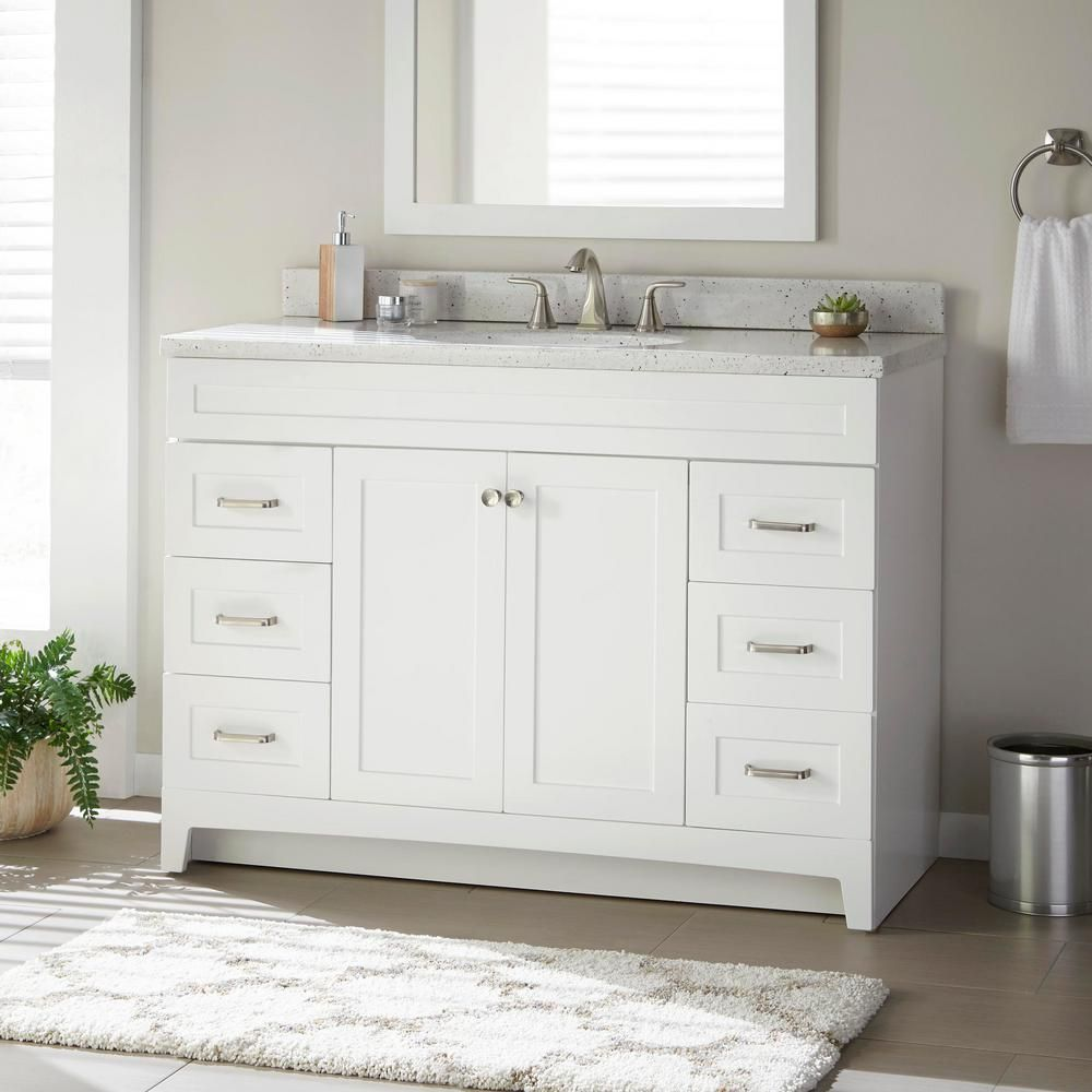 Home Decorators Collection Thornbriar 48 In W X 21 In D Bathroom
