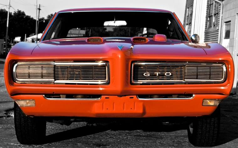 Gto Oldschool Classic Vintage Muscle Musclecar Power Car
