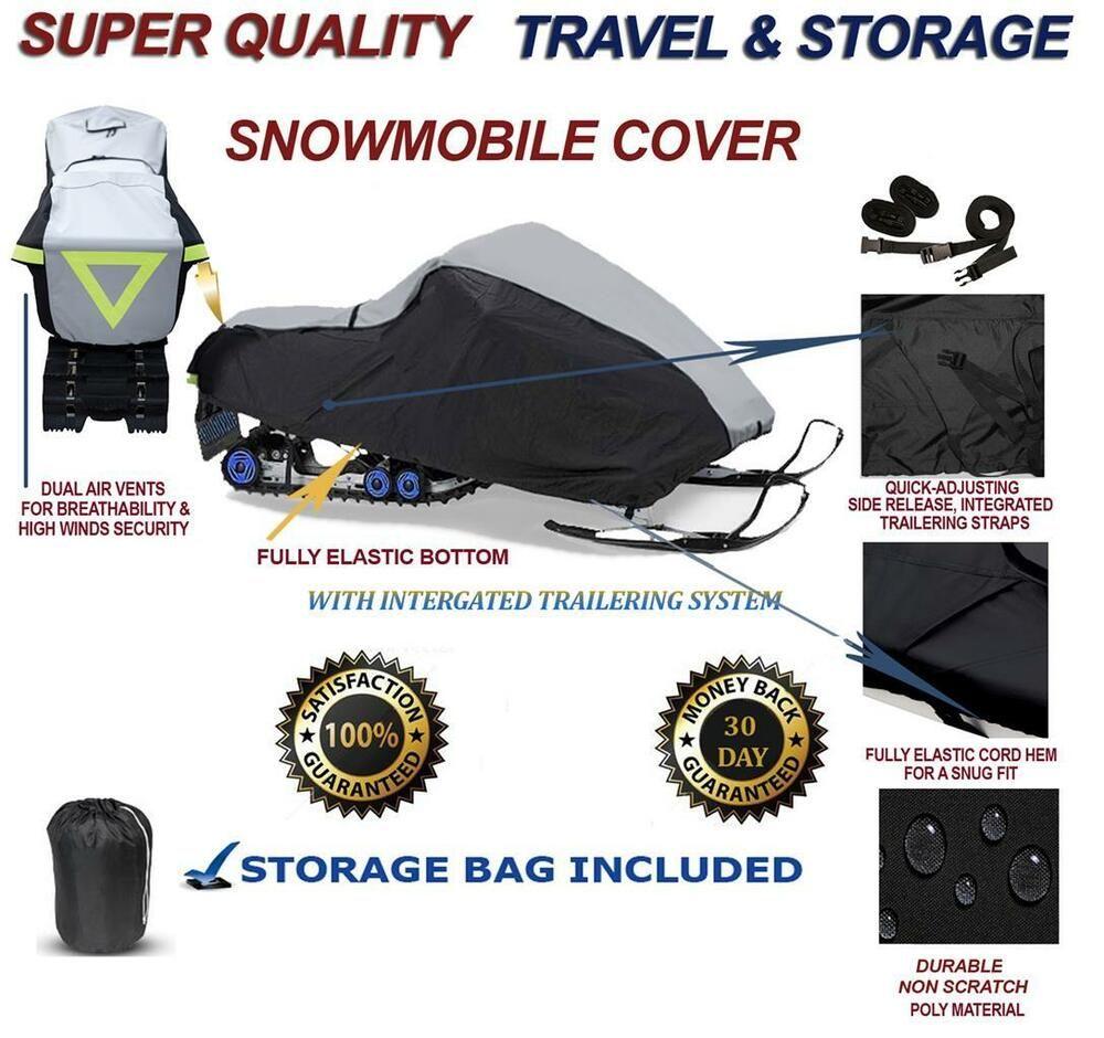 Details about HEAVY Snowmobile Cover Arctic Cat M 8000