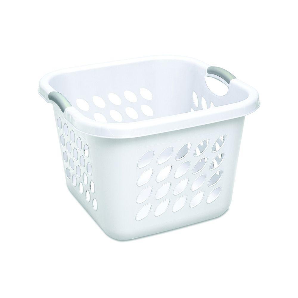 Sterilite Ultra Square Laundry Basket 12178006 The Home Depot