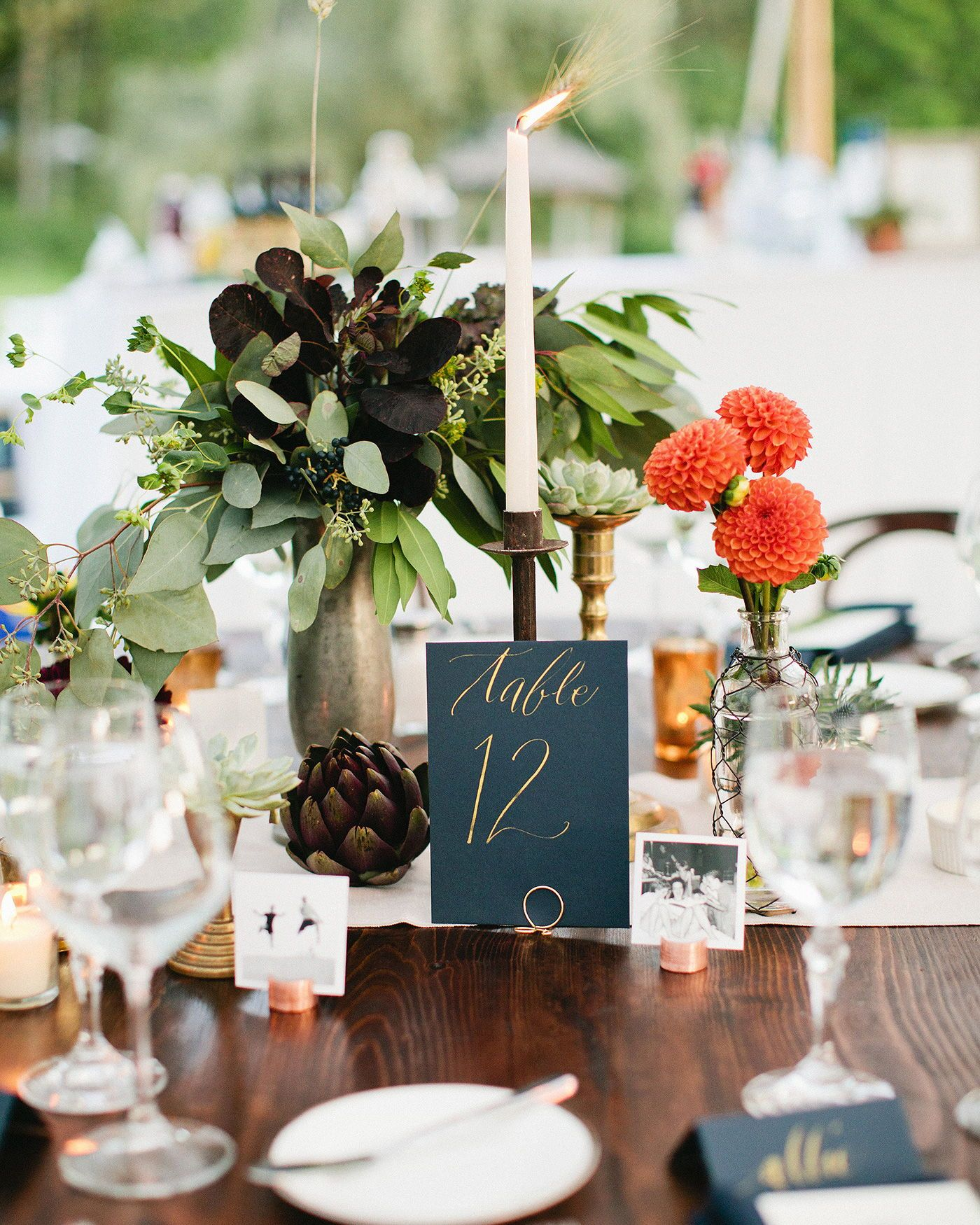 84 Candle Centerpieces That Will Light Up Your Reception Wedding