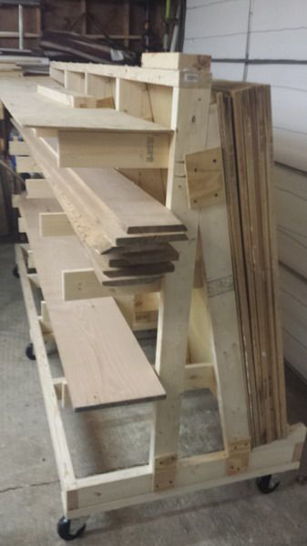 Rolling Plywood Cart Ideas For Woodworking Wood