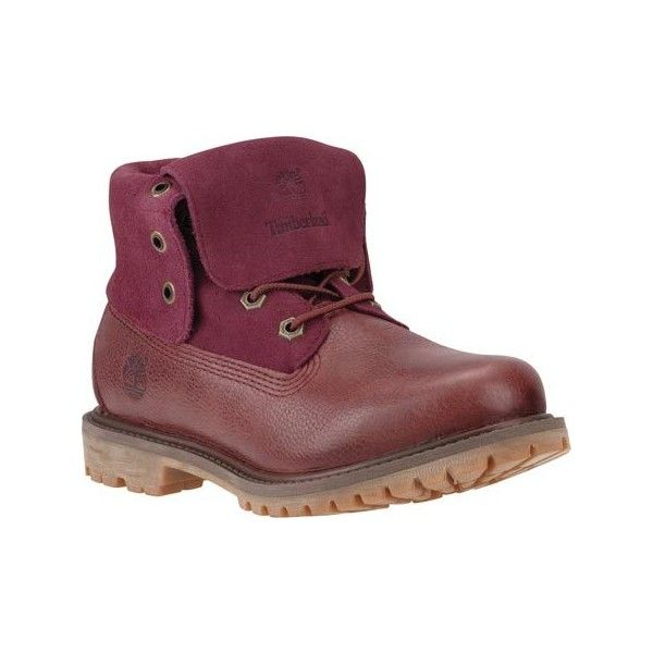 Women's Timberland Authentics Suede Roll-Top Boot - Port Woodlands... ($130