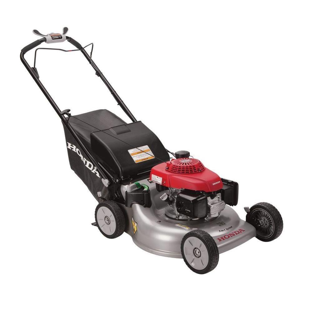 Honda 21 in. 3-in-1 Variable Speed Gas Self Propelled Mower with ...
