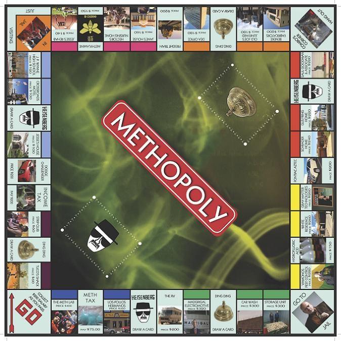 Methopoly, el Monopoly de Breaking Bad