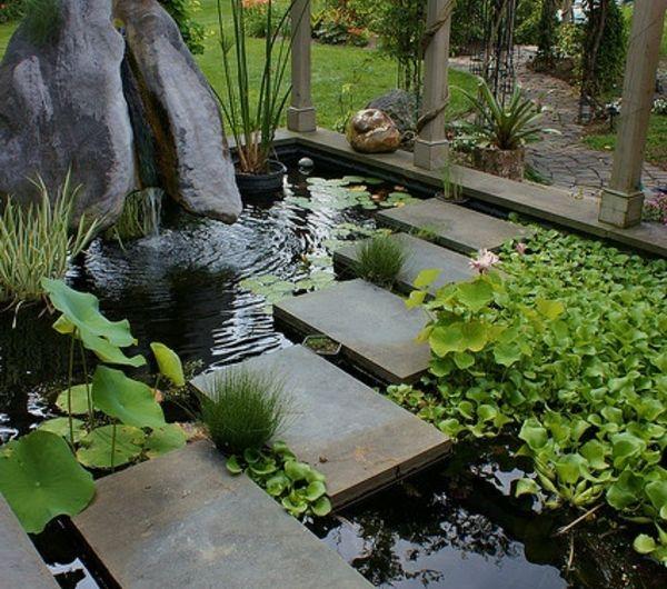 Allées de jardin créatives pour votre extérieur | Fish ponds, Pond ...