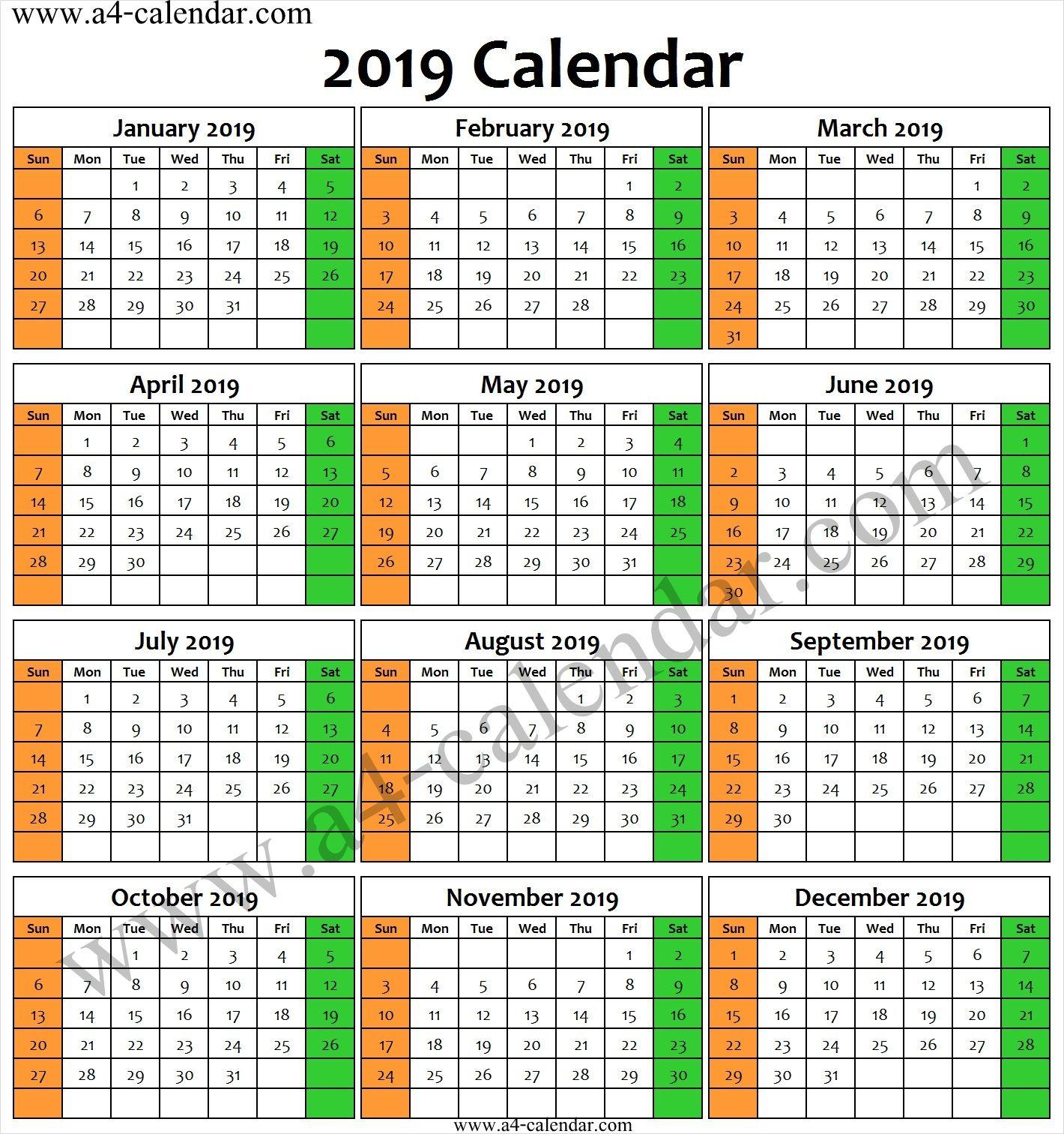 Indian 2019 Calendar 2019 Calendar Calendar Printables Calendar