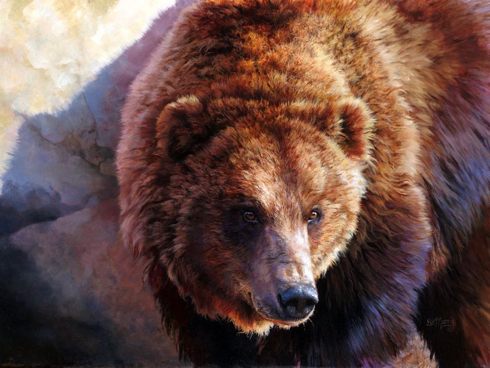 медведь масло картинки особенно наглядно