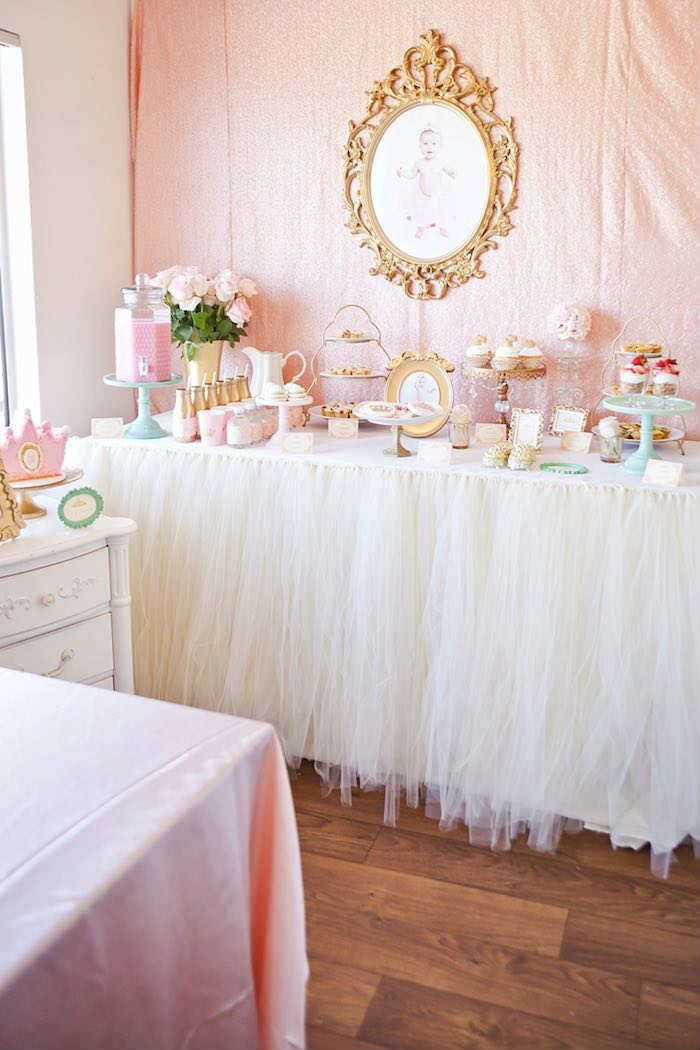 10 1st Birthday Party Ideas for Girls Part 2 Royal princess